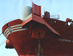 BOW LOADING ARRANGEMENT ON BOARD 'GOVERNOR FARKHUTDINOV'